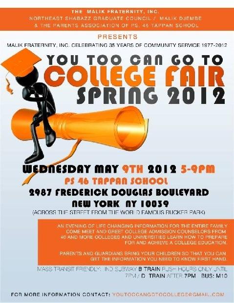 The Malik Fraternity Inc College Fair May 9th Theinneru